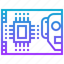 engineering, kit, pcb, robot, robotic, technology icon