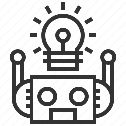 creative, engineering, idea, innovation, robot, robotic, technology icon