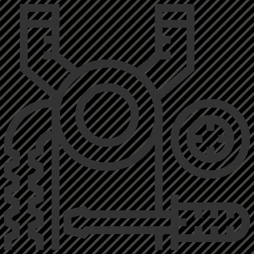 engineering, maintenance, production, repair, robotic, technology, tool icon