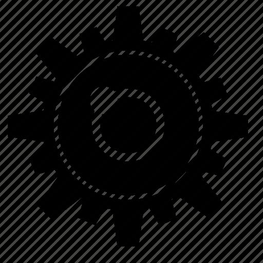 eye, gear, part, robot icon