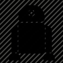 r2d2, robot, star, wars icon