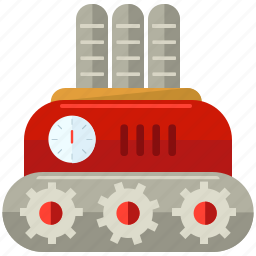 device, engine, robot, robotic, technology icon