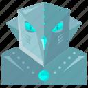 robot, evil, device, technology, robotic