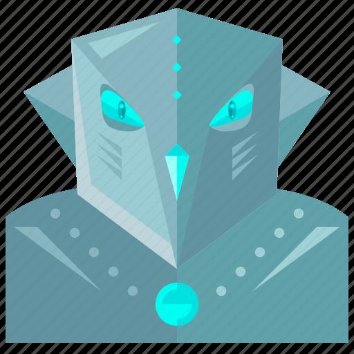 device, evil, robot, robotic, technology icon