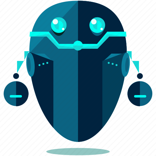 cyborg, device, floating, robot, robotic, technology icon