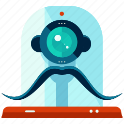 bionic, cyborg, device, robot, robotics, technology icon