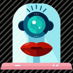 cyborg, device, robot, robotic, technology icon