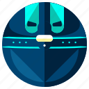 articial, intellegince, orb, robot, robotic, sphere icon