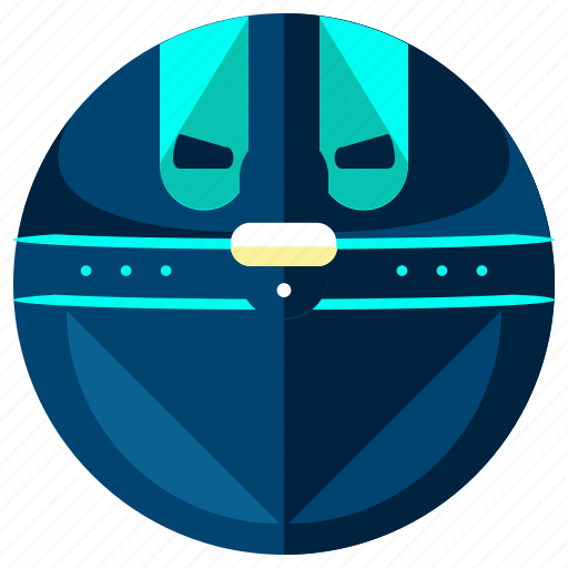 articial, intellegince, orb, robot, robotic, sphere icon