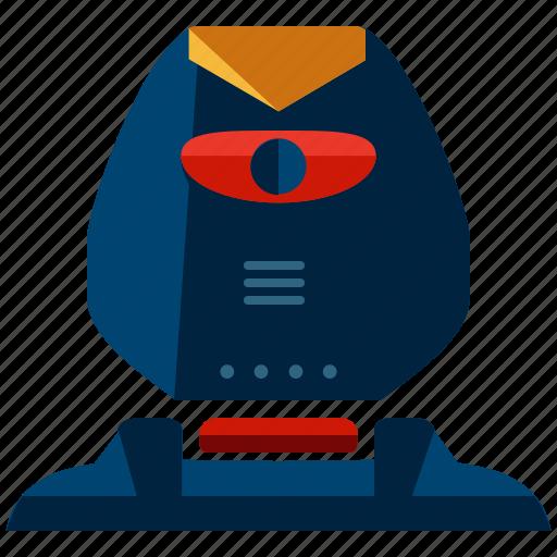 angry, cyborg, robot, robotic, robotics, technology icon
