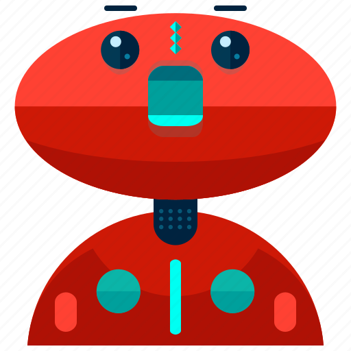 Robot, machine, device, cyborg, robotics, technology icon