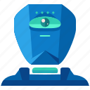 artificial, cyborg, device, intellegince, robot, technology icon