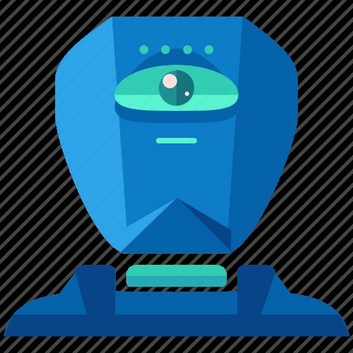 artificial, cyborg, device, intellegince, robot, technology icon