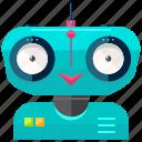 friendly, robot, cyborg, device, robotic, technology