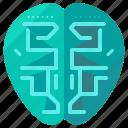 brain, robot, bionic, cyborg, robotic, technology
