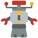 b9, droid, mechanical, robots, space icon