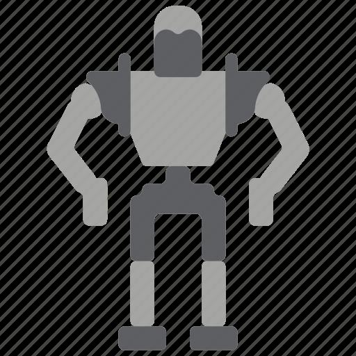 droid, giant, iron, mech, mechanical, robots icon
