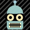 mech, droid, robots, robot, futurama, bender