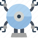 bot, droid, mech, robot, robots icon