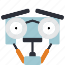 bot, droid, film, johnny, johnny 5, robots icon