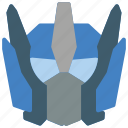 cartoon, film, optimus, robots, transformers icon
