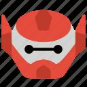 battle, baymax, big hero six, film, head, robots icon
