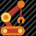 arm, bot, droid, robot, robots icon