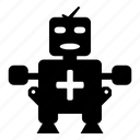 doc, health, healthbot, help, robot icon
