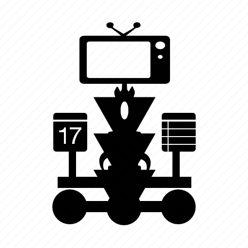 robot, tv, tvbot icon