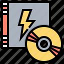 disc, entertainment, music, record icon