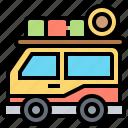 bus, tour, transportation, truck, vehicle icon