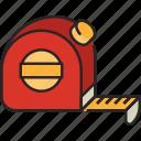measurement, tool, ruler, scale, measure, equipment, tape