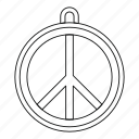 band, line, music, outline, rock sign, roll, thin icon