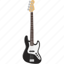 bass, electric, guitar, instrument