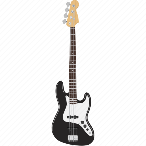 bass, electric, guitar, instrument icon