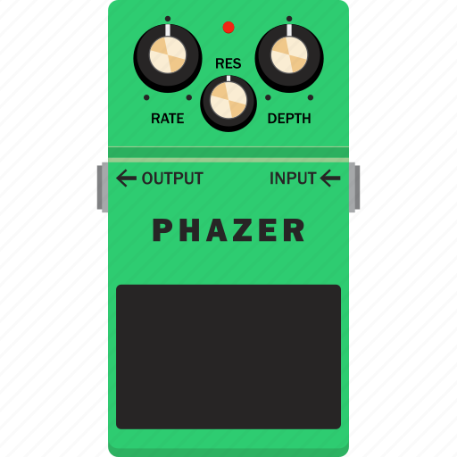 effect, guitar, pedal, phazer icon