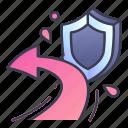 attack, defense, game, protection, reflect, shield, skill
