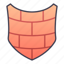 shield, ability, wall, game, protection, skill, castle icon