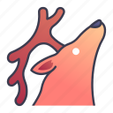ability, animal, nature, game, deer, summon, skill icon
