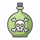 ability, bomb, poison, item, game, swords, skill icon