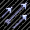 ability, arrow, arrows, game, rain, shower, swords