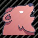 ability, bear, game, rpg, skill, summon, swords icon