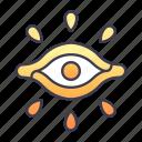 ancient, egypt, eye, god, magic, pharaoh icon