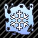 cold, curse, fantasy, game, magic, spell icon