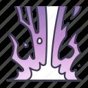 fantasy, game, lightning, magic, spell, thunderbolt icon