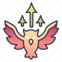 archer, arrow, fantasy, hunter, ranger, rpg icon