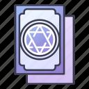 card, fantasy, game, mage, magic, rpg, wizard icon