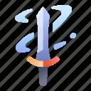 swords, power, skill, game, ability, aura icon