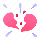 ability, break, heart, love, relationship, skill