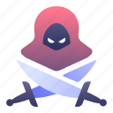 fantasy, assassin, rpg, classes, game, blade icon